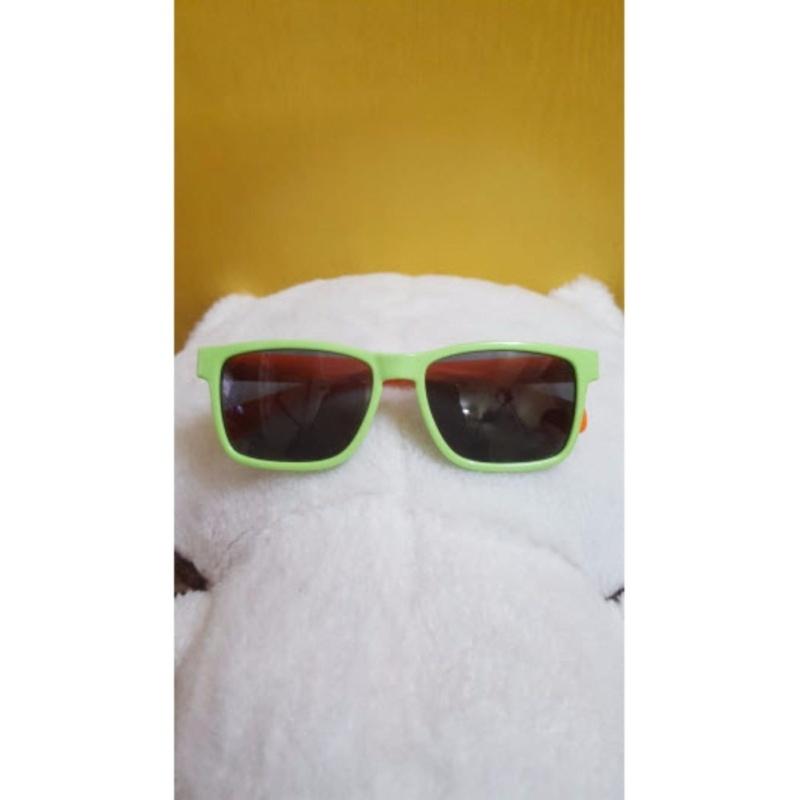 Giá bán Kính mát trẻ em chống nắng cao cấp mắt vuông (Xanh cam) GC-0001