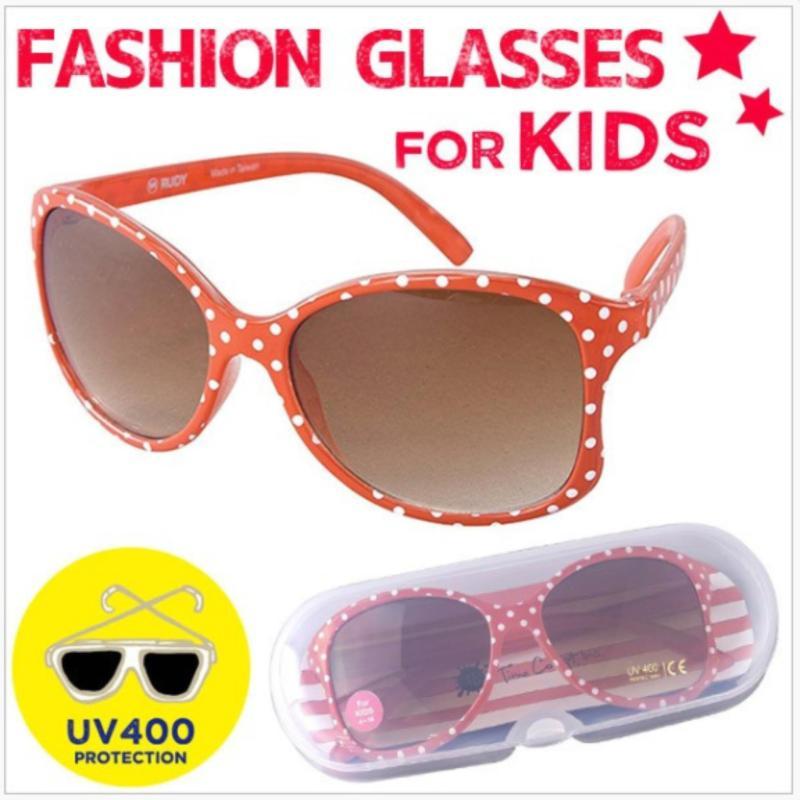 Mua Kính mát trẻ em chống tia UV (nhập khẩu Nhật - gọng chấm bi đỏ)