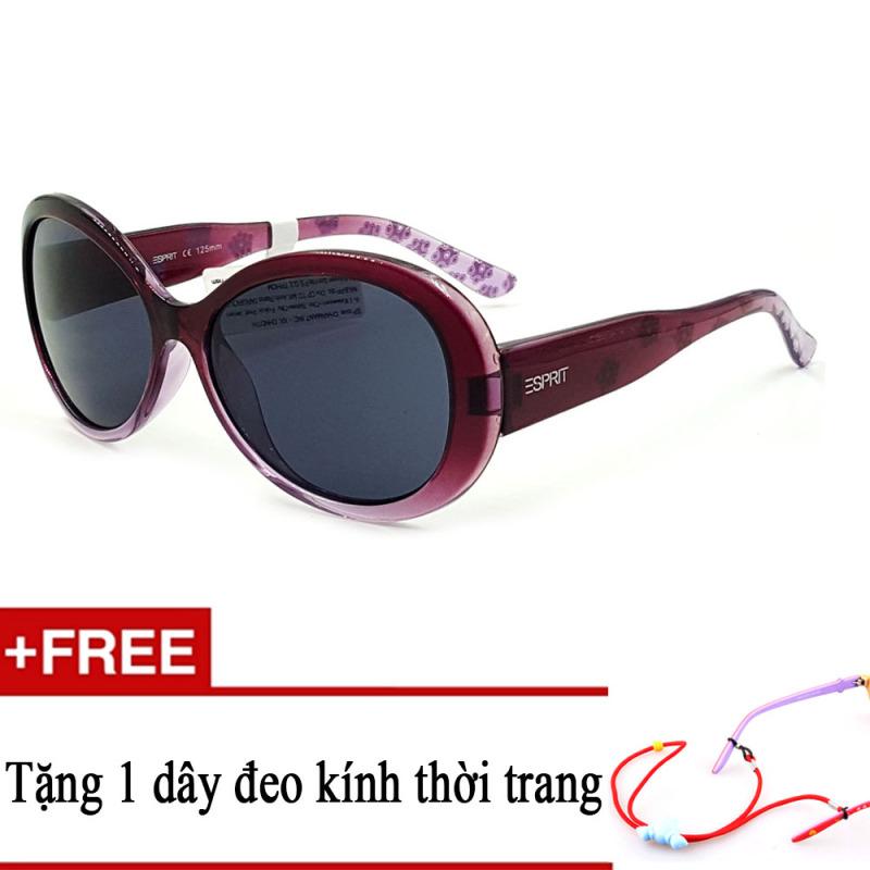 Giá bán Kính mát trẻ em ESPRIT ET19756 555 (Cam) + Tặng kèm 1 dây đeo kính trẻ em