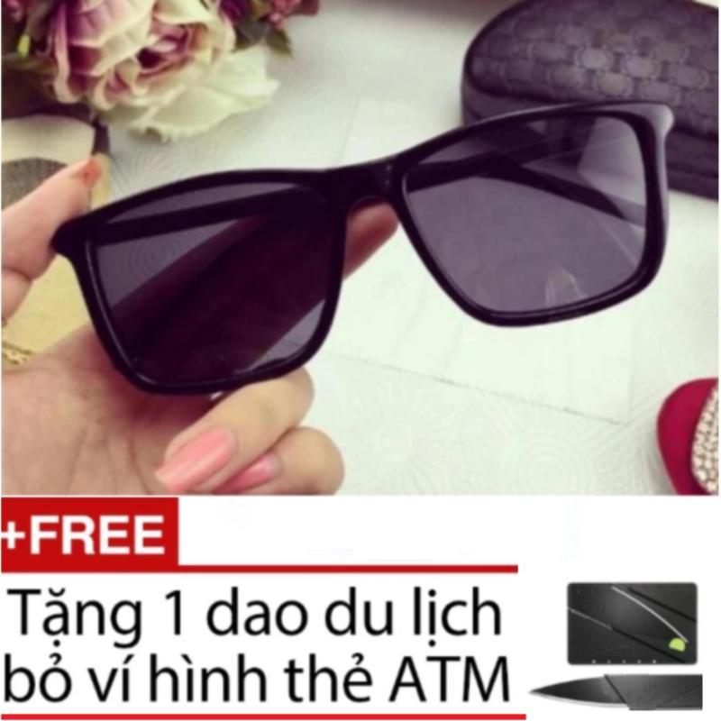 Mua Kính Tây Nam-Nữ (Đen) + Tặng Kèm Dao Thẻ ATM
