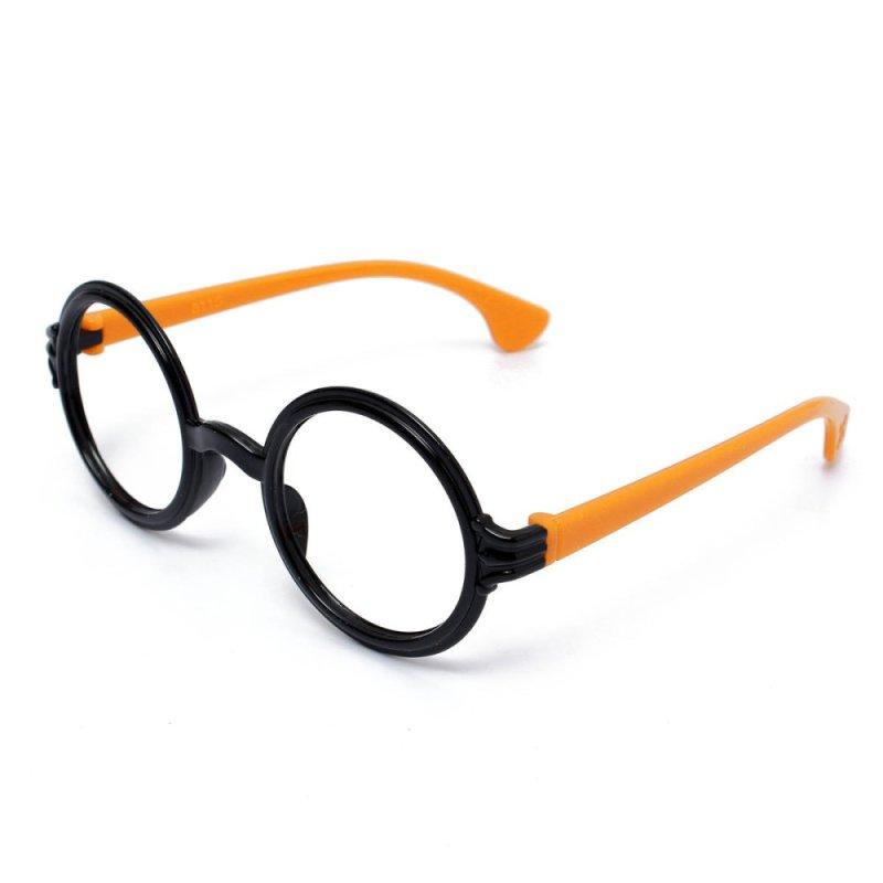 Mua Lovely Fashion Retro Round Lens-free Eyeglass Frame Decoration Kids Men Women - Intl