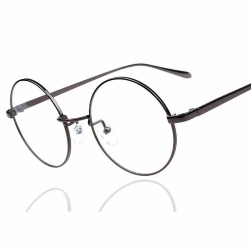 Mua Mắt kính ngố cao cấp thời trang nam nử dễ thương (đen)