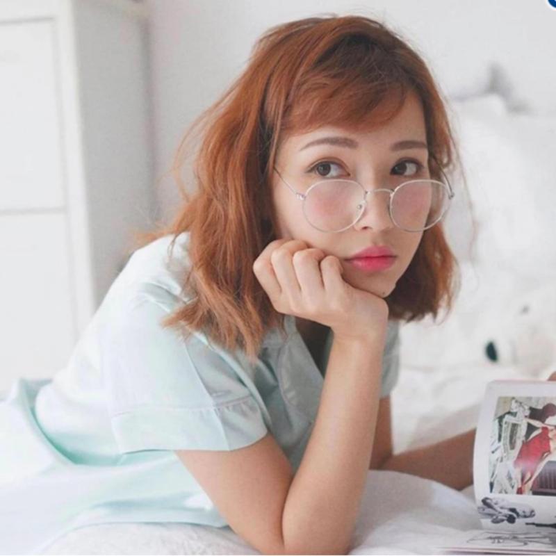 Mua Mắt kính  ngố thời trang trẻ trung Hàn Quốc Urban (Trắng)