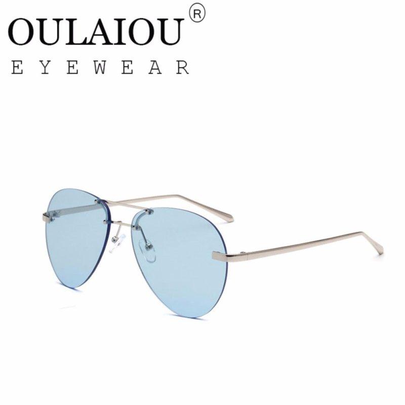Mua Oulaiou Fashion Accessories Anti-UV Trendy Reduce Glare Sunglasses OB141 - intl