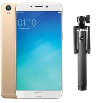 Bộ 1 OPPO F1s Ram 3GB-32GB (Vàng Đồng) + Gậy Chụp Hình - Hãng Phân phối chính thức