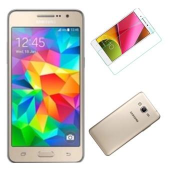 Bộ Samsung Galaxy Grand Prime G530 8GB (Vàng) - Hàng nhập khẩu + Ốp lưng silicon+ Dán cường lực