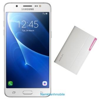 Bộ Samsung Galaxy J5 2016 16GB 2GB (Trắng) + Sạc Arun 8400 mAh - Hàng nhập khẩu