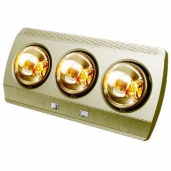 Đèn sưởi nhà tắm 3 bóng Kottmann K3B-G (Vàng)
