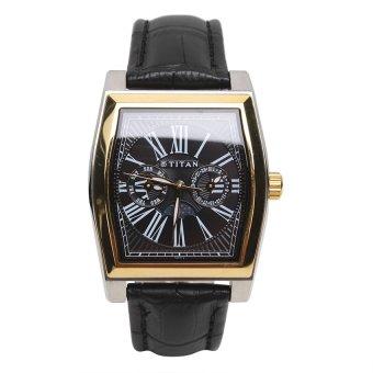 Đồng hồ nam dây da Titan 1555BL02