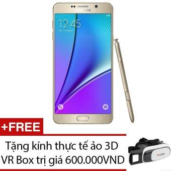 SamSung Galaxy Note 5 SM-N920 32GB Vàng + Tặng 1 kính thực tế ảo 3D VR Box - Hàng nhập khẩu