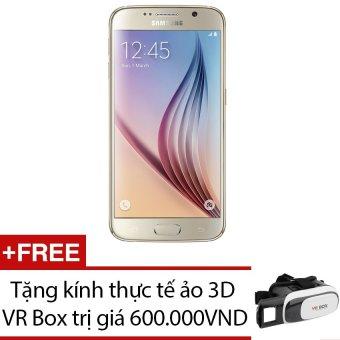 SamSung Galaxy S6 32GB (Vàng) + Tặng 1 kính thực tế ảo 3D VR Box - Hàng nhập khẩu
