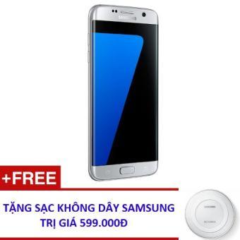 Samsung Galaxy S7 Edge 32GB (Bạc) - Hàng nhập khẩu + Tặng Đế Sạc nhanh không dây(Bạc 32GB)