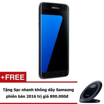 Samsung Galaxy S7 Edge 32GB (Đen) - Hàng nhập khẩu + Tặng Đế sạc nhanh không dây Samsung 2016 (Đen)