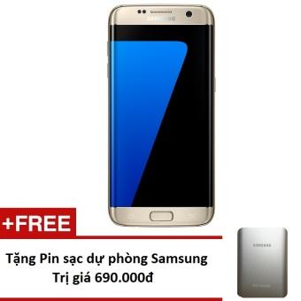 Samsung Galaxy S7 Edge 32Gb G935 (Vàng) - Hàng nhập khẩu + Tặng pin sạc dự phòng 10.000mAh