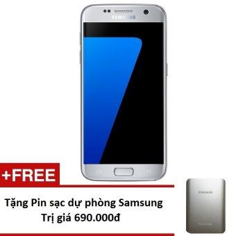 Samsung Galaxy S7 G930 32GB (Vàng) - Hàng nhập khẩu + Tặng Pin sạc dự phòng 10.000mAh