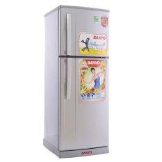 Tủ lạnh 2 cánh Sanyo SR-S185PN(SN) 180L (Bạc)
