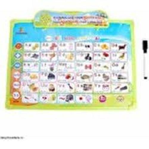 Hình ảnh Bảng học chữ đa năng A Xuân 11 trong 1,bảng chữ cái điện tử,bảng chữ cái dạy bé học,Bảng chữ cái đa năng,bang chu cai dien tu(kèm pin)