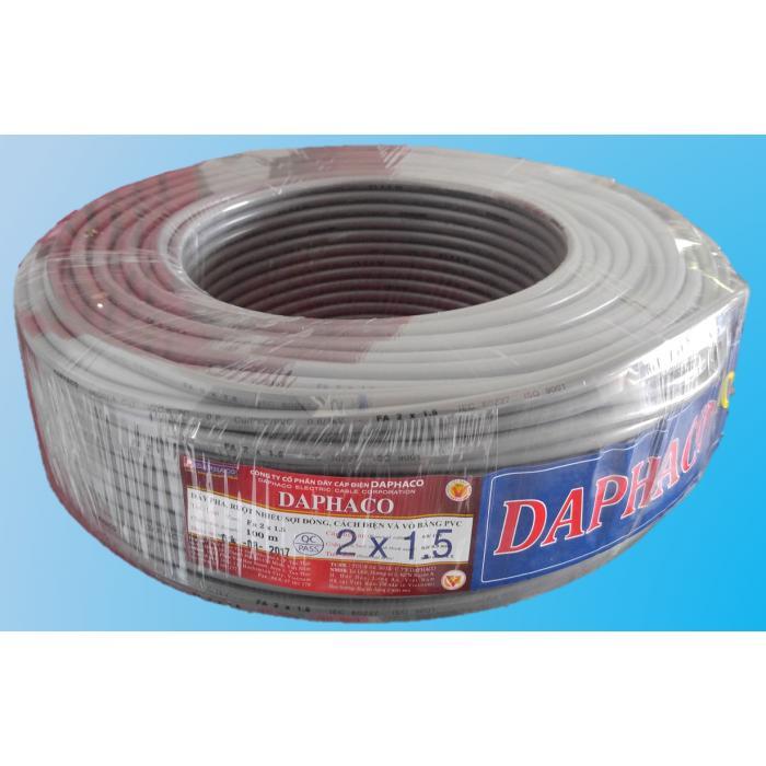 Dây Fa 2 x 1.5 DAPHACO (40 mét)