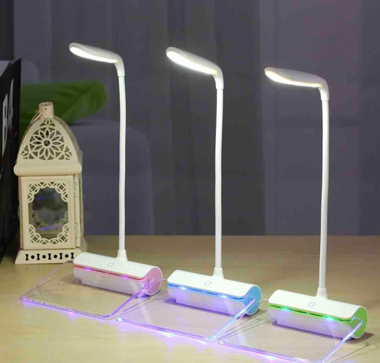 Đèn bàn LED - Cảm ứng 3 cấp độ (chống cận)
