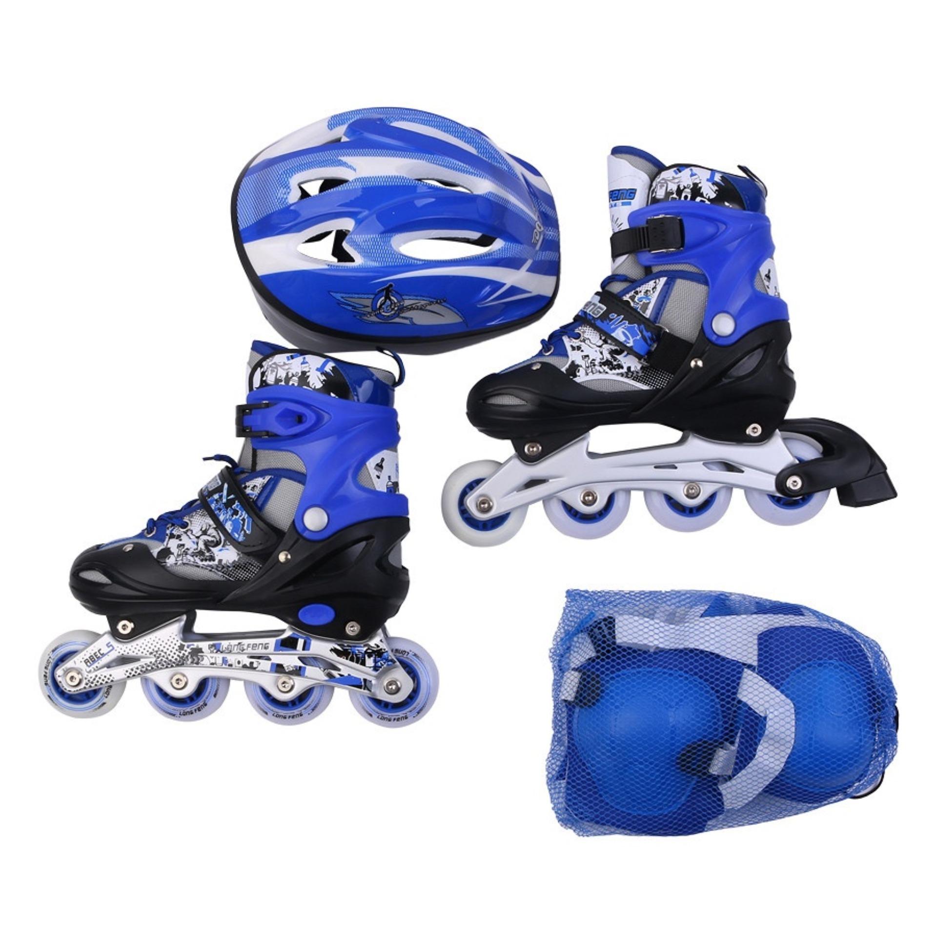 Tim mua giay patin,giày trượt patin mua ở đâu - Giày Patin Trẻ Em, Chắc Chắn, Ôm Sát Chân Chân,  Giúp Bé Vui Chơi Thỏa Thích Mà Lại An Toàn, Sản Phẩm Cao Cấp -Tặng Kèm Bộ Bảo Hộ Đáng Yêu  - Mẫu Mới 2029