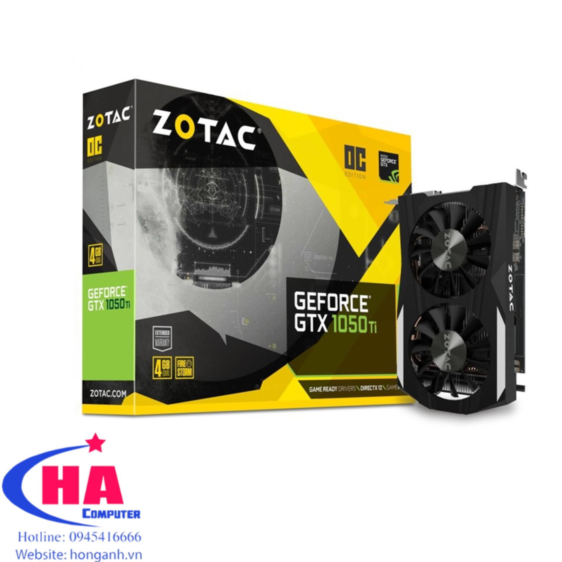 Hình ảnh VGA Zotac GTX 1050 Ti 4G 2nd
