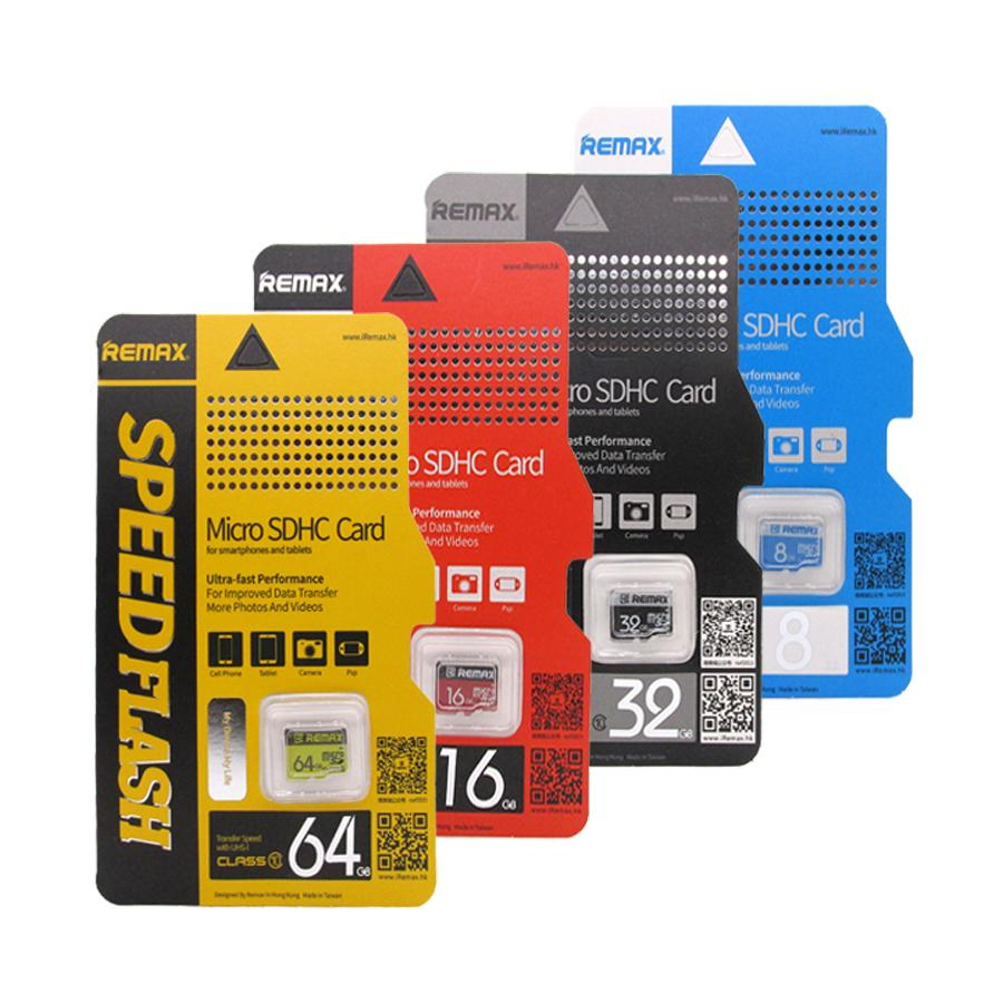 Thẻ nhớ 32GB Micro Remax Class 10 + 01 Áo thẻ