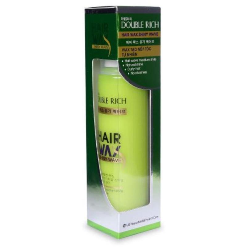 Wax Tạo Nếp Tóc Tự Nhiên Double Rich Hair Wax Shiny Wave 130ml giá rẻ