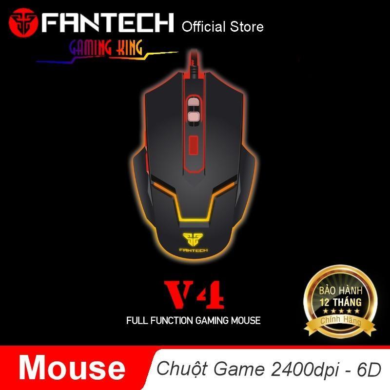 Ôn Tập Chuột Quang Chơi Game Chuyen Nghiệp Co Day 6D Fantech V4