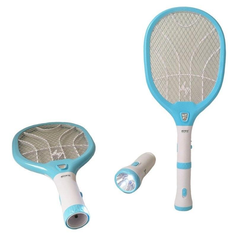 Vợt muỗi kiêm đèn pin sạc điện KamiHome 3820 /Đuổi muỗi Diệt muỗi Chống muỗi Đèn pin sạc