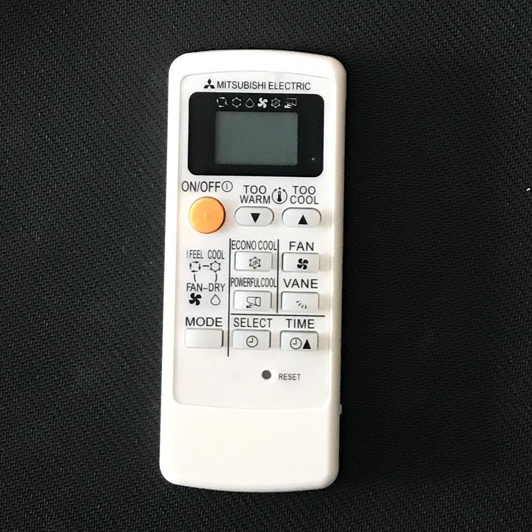 Hình ảnh Điều khiển điều hòa mitsubitshi 03 (mặt đen)