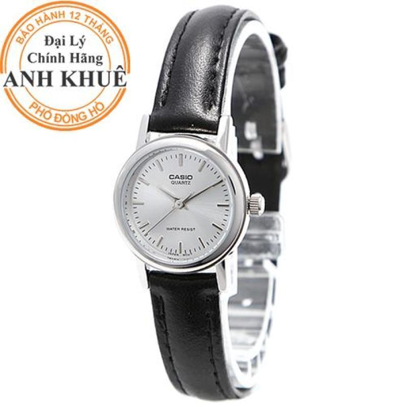 Đồng hồ nữ dây da Casio Anh Khuê LTP-1095E-7ADF