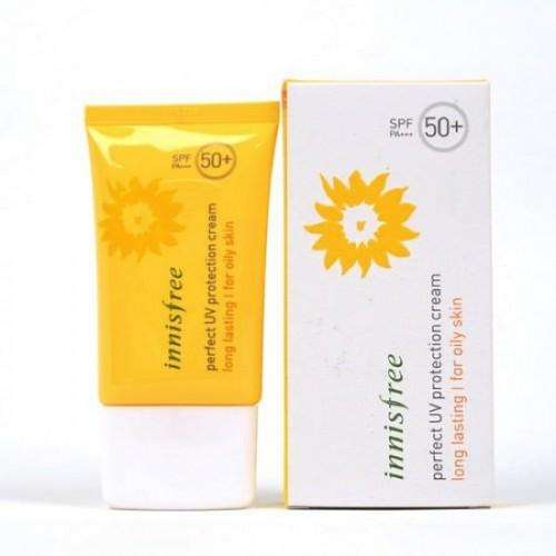 Kem chống nắng dòng Perfect UV protection Cream Long Lasting for dry skin 50ml SPF50+/PA+++