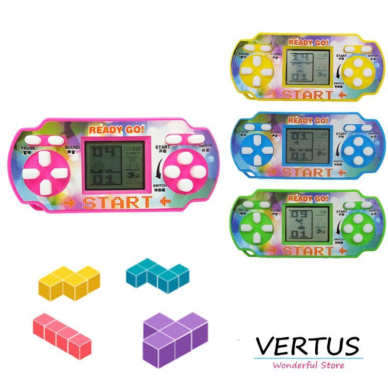 Hình ảnh Máy Chơi Game Xếp Hình Kiểu Dáng PSP Kiêm Móc Treo Chìa Khóa