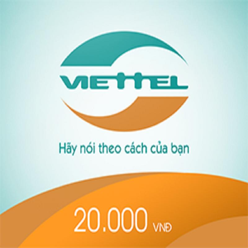 Thẻ Viettel20.000Đ