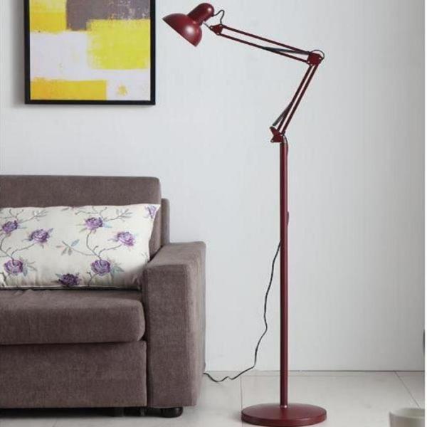 Đèn cây cao cấp trang trí, học tập, làm việc Pixar PM302 + Tặng bóng LED 7W Vàng