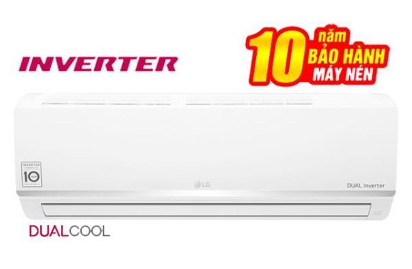 Điều hòa 1 chiều LG V10ENW 9.200BTU Dual Cool - Miễn phí vận chuyển & lắp đặt toàn miền Bắc - Bảo hành chính hãng - Mediamart