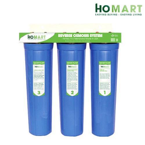 Bộ lọc nước sinh hoạt 3 cấp ly 20