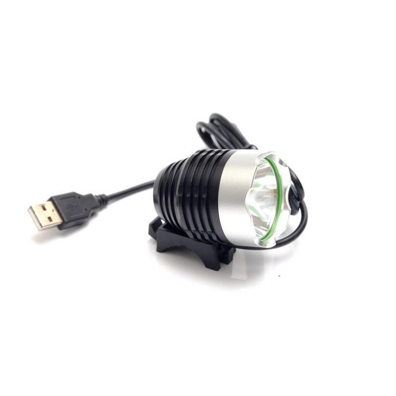 Đèn 1 pha xe đạp chuẩn USB