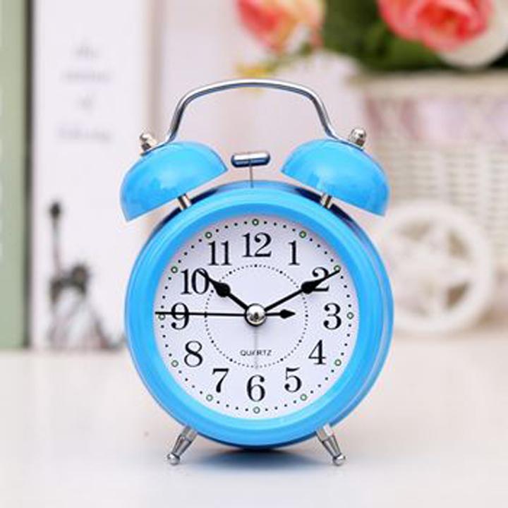Nơi bán Đồng hồ báo thức reo to bằng chuông cơ học cho sinh viên (nhiều màu) CHOTO CT 339