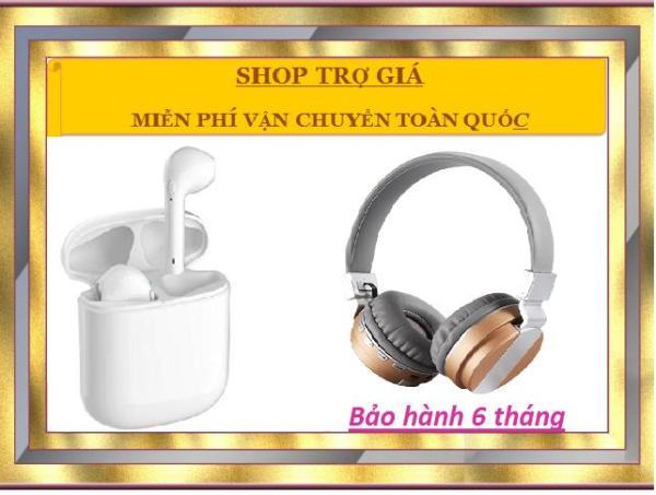 Combo tai nghe bluetooth I8 PRO và bluetooth chụp tai S.ONY đẳng cấp mới