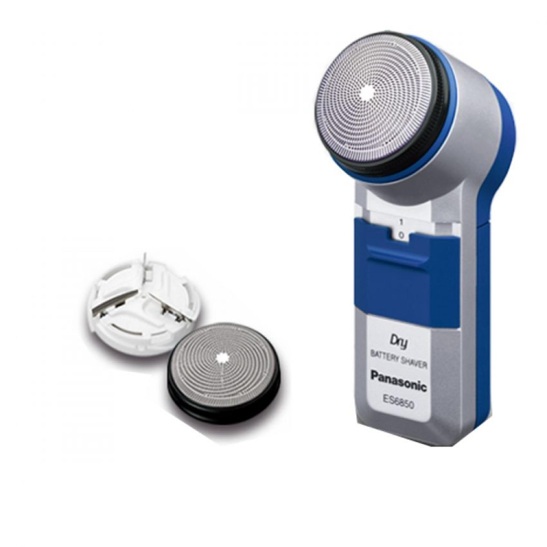 Hình ảnh Máy cạo râu Panasonic ES6850 (Trắng phối xanh)