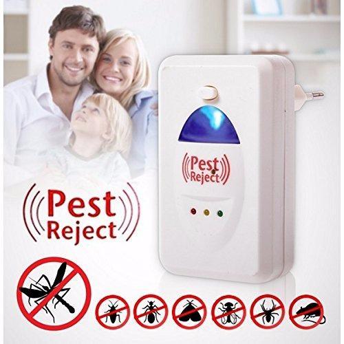 Hình ảnh Máy Đuổi Côn Trùng Chuột, Gián, Muỗi, Có Đèn Ngủ (hàng thật)