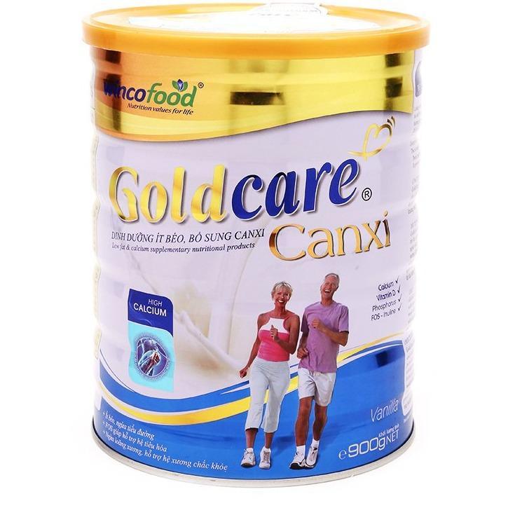 Giá Bán Sữa Bột Goldcare Dưỡng Chất It Beo Bổ Sung Canxi 900G Rẻ