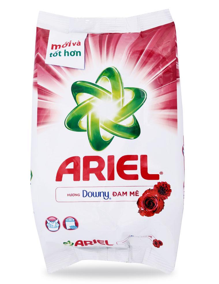 Bột Giặt Ariel Hương Downy Đam Mê Gói 650G