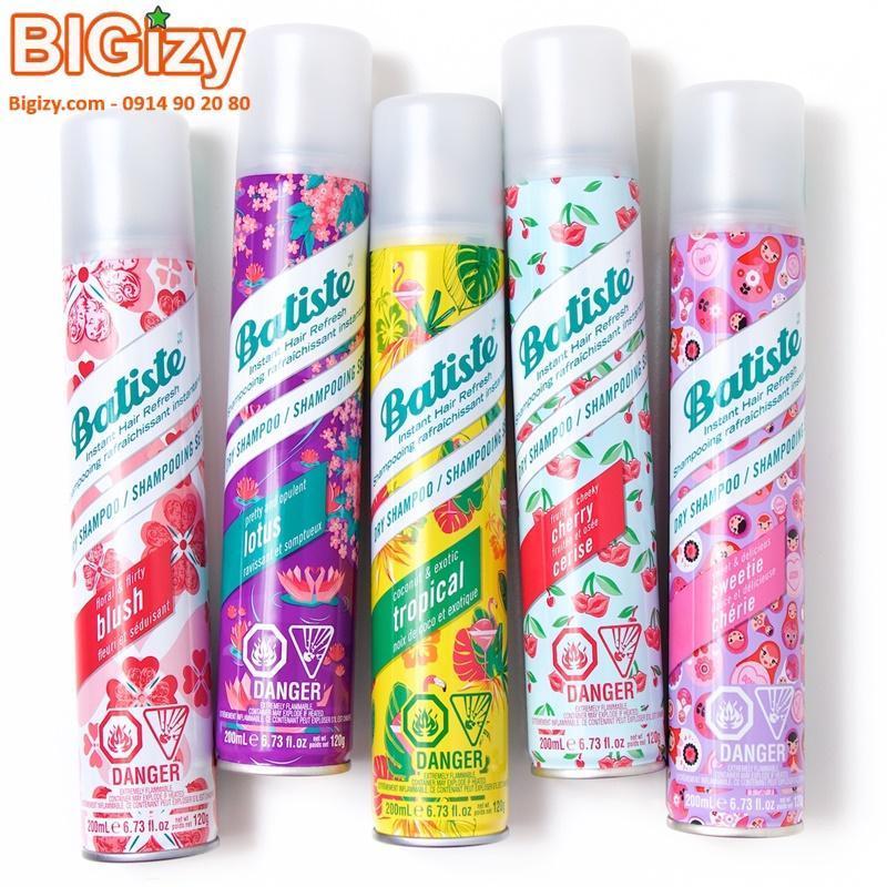 Dầu Gội Khô Batiste Dry Shampoo 120gr giá rẻ