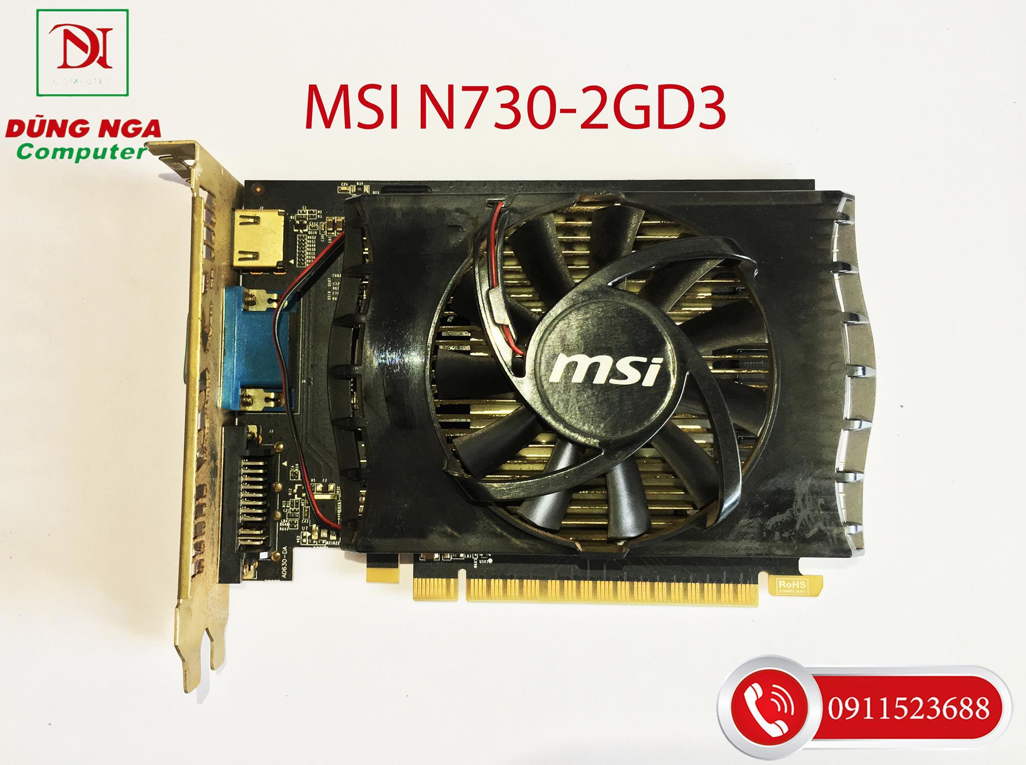 Card màn hình MSI N730-2GD3