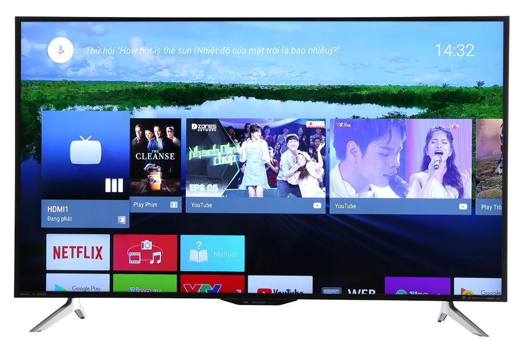 Hình ảnh Android Tivi Sharp 4K 50 inch LC-50UA6800X