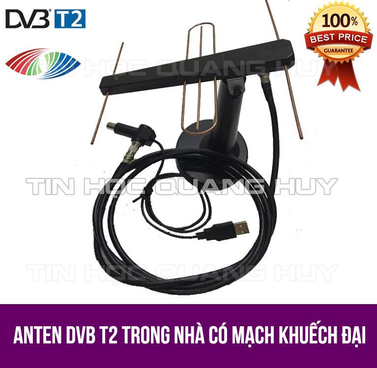 Anten trong nhà DVB T2 có mạch khuếch đại tín hiệu