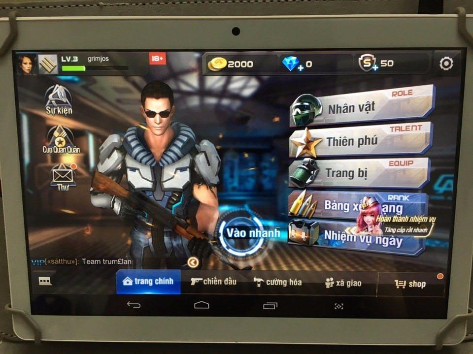 Hình ảnh Máy tính bảng 10.1 inch vỏ nhôm chip lõi tứ 1.3GHz 1GB RAM 16GB 2 khe SIM 2G 3G