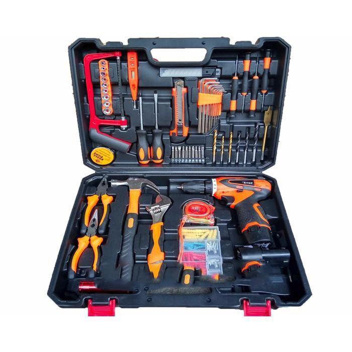 Hộp dụng cụ 100 món - Hộp dụng cụ All in One - ABG shop